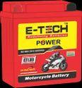 Capacity: 9ah Two Wheeler E-tech Power Etlb9