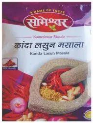 Someshwar Kanda Lasun Masala Powder, Packaging Type: Packet, Packaging Size: 1 Kg