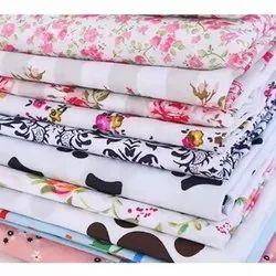 Cotton Flower Printed Fabric