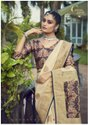 Printed Party Wear Ladies Desginer Silk Saree, 6.3 M (with Blouse Piece)