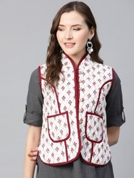 Sleeveless Casual Jackets Ladies Fashion Jacket, Size: Medium