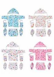 Casual Wear New Era Unisex Baby Jhabla Set, Age Group: 0-6 Month