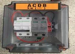 Solar ACDB And DCDB Box