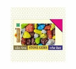 Multicolor Polished Sugar Coated Chocolate Stone Gem, For Confectionery