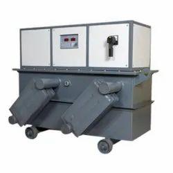 Automatic 100% 75 kVA Oil Cooled Servo Stabilizers, 415 V, 295 - 465 V