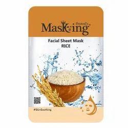 MASKING BEAUTY - RICE FACIAL SHEET MASK