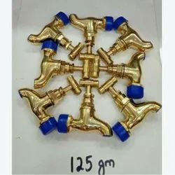 125 GM Brass Water Tap, For Bathroom Fitting, Size: 15 Mm