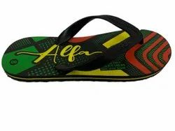 A Daily Wear Rubber Slipper, Design/pattern: Printed, Size: 4-5,6-10