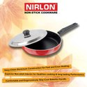 Nirlon Tawa And Frying Pan Combo Aluminum Nonstick Cookware Set for Cooking