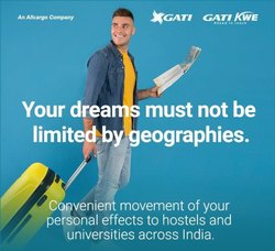 Gati Student Express Transportation Services, Pan India, Mode Type: Air,Surface
