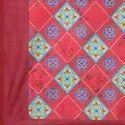 Digital Print Silk Dupatta