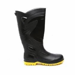 Agarson Supreme Yellow and Black Safety / Industrial Gumboot