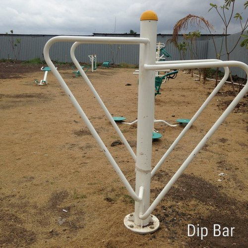 Outdoor Gym Mild Steel Push Up Dip Station