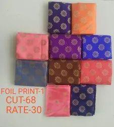 Foil Print-1 Jacquard Blouse Fabric