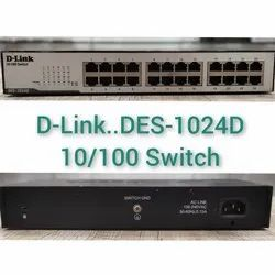 Refurbished Net Switches 24 Used D-link Switch, Model Name/number: Des-1024d