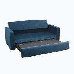Blue Sofa Cum Bed