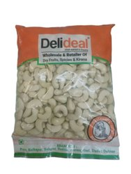 Delideal White Organic Cashew Nut, Packaging Size: 500 g