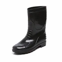 Agarson Bahubali Black Safety / Industrial Gumboot