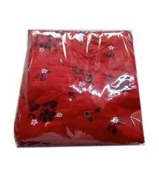 Printed Ladies Cotton Umbrella Kurtis, Wash Care: Handwash