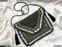 Banjara Boho Coin Beaded Bag