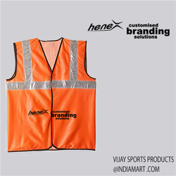 Unisex Polyester Reflective Jackets
