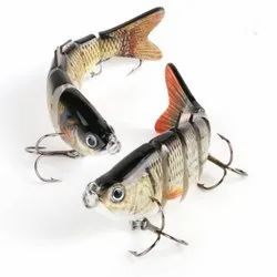 6 Segments High Carbon Steel Anchor Lifelike Multi-jointed Artificial Hooks Fishing Lures