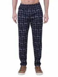 Men Lycra Sports Polyester Pyjama Lower Track Pants