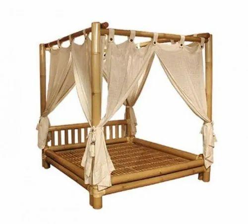 Artkeval Modern Bamboo Wood Bedroom, Bamboo Bedroom Furniture Set