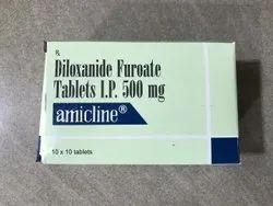 Amicline - Diloxanide Furoate Tablets I.P. 500mg, 10x10
