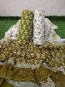 Jaipuri Hand Block Print Dress Material