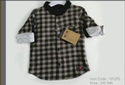 Cotton Regular Wear 1012fs Kids Shirt