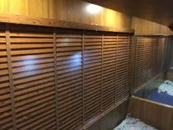 Basswood Slat Wooden Venetian Blinds, For Window Covering