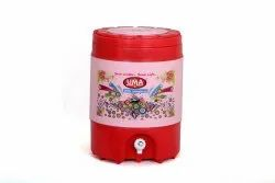 Insulated Plastic Water Jug, Cold Time: 24 Hour, Capacity: 18 Litre