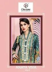 Charizma Designer Anaya Viva Vol 1 Jam Cotton With Patch Work Pakistani Suits Catalog