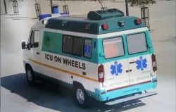 ICU Ambulance On Wheel