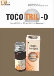 Racecadotril 15mg Ofloxacin 50mg/5ml suspension