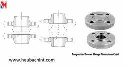 Stainless Steel Tongue And Groove Flange