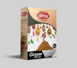 Someshwar Garam Masala, Box