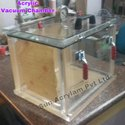 Resin Degasing Acrylic Vacuum Chamber