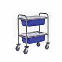 Stainless Steel Storage Trolley