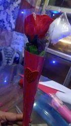 Valentine's Rose Cone, Box