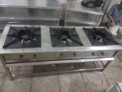 3 Burner Gas Range
