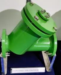 PFA/FEP LINED Y TYPE STRAINER
