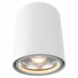 Round Pure White Surface COB Downlight, IP55, 30 W