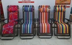 Folding Relaxing Chair With Pillow