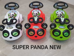 Plastic Red super panda magic car, For School/Play School