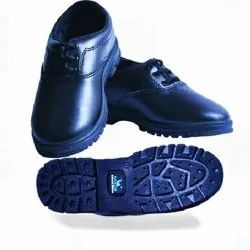 Leather Formal Black School Shoes