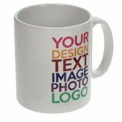 Printed Mug Printing Service, For Gift