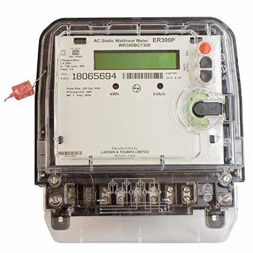ER300P 3 Phase Unidirectional Energy Meter With Box