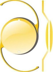 Yellow PMMA Intraocular Lenses